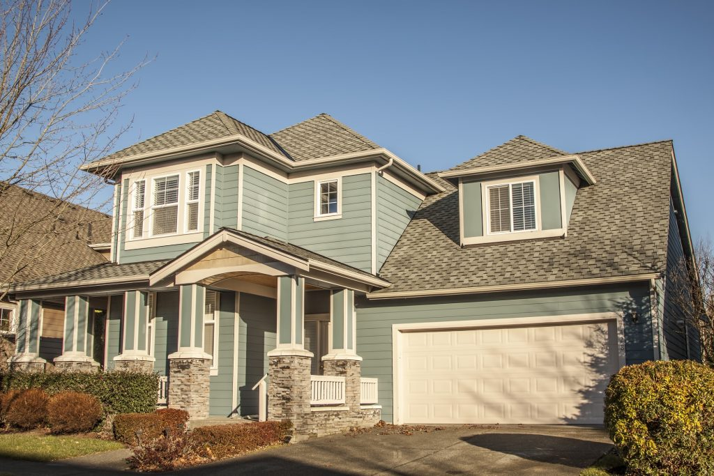 Shingle Roof On Craftsman Style Home