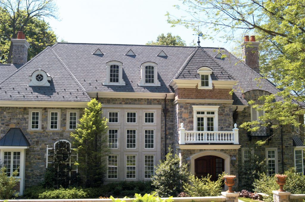 Shingle Roof Replacement On Cobblestone House