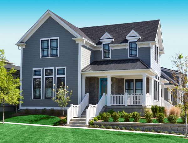 exterior home painted
